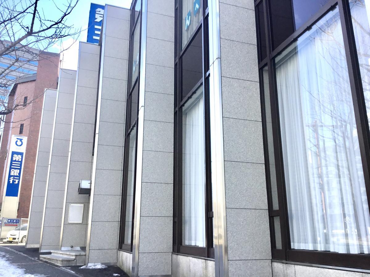 第三銀行名古屋支店で撮影しました