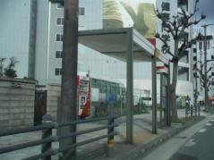 「築港口」バス停留所