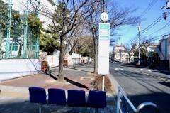 「南葛西中学校前(北側)」バス停留所
