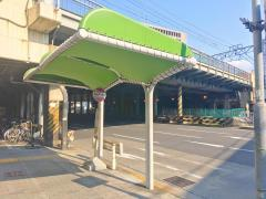 「笹島町(西)」バス停留所