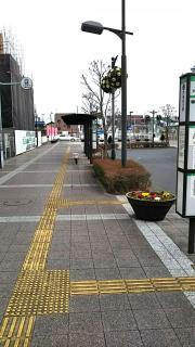 「戸塚安行駅」バス停留所