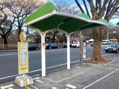 「名古屋城」バス停留所