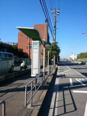 「平林四号池」バス停留所