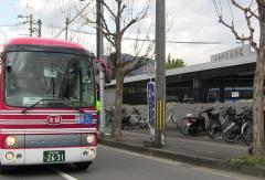 「折上神社」バス停留所