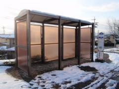 「水沢典厩寺」バス停留所