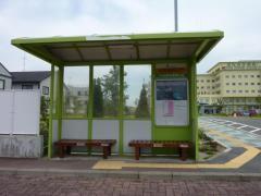 「労災病院正門」バス停留所