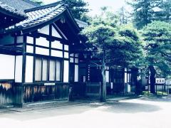 尾山神社金渓閣