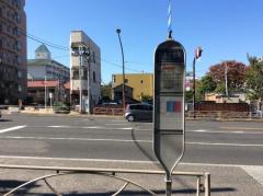 「荏原営業所」バス停留所
