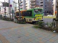 「江東車庫前」バス停留所