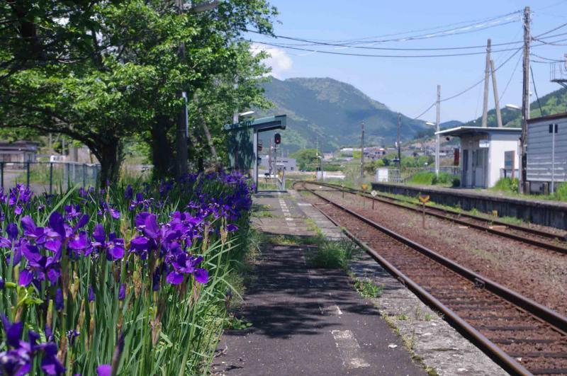 アヤメの花の咲く駅 第1