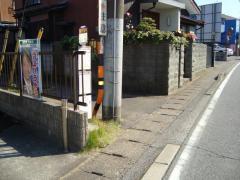 「西千葉寺」バス停留所