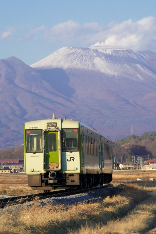 太田部駅から龍岡城駅に向かう電車