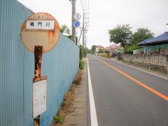 「鳴門川」バス停留所