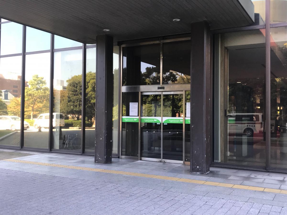 北九州市役所 北側玄関出入口