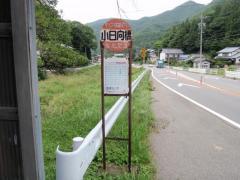 「小日向橋」バス停留所
