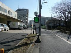「平井七丁目第三アパート前」バス停留所