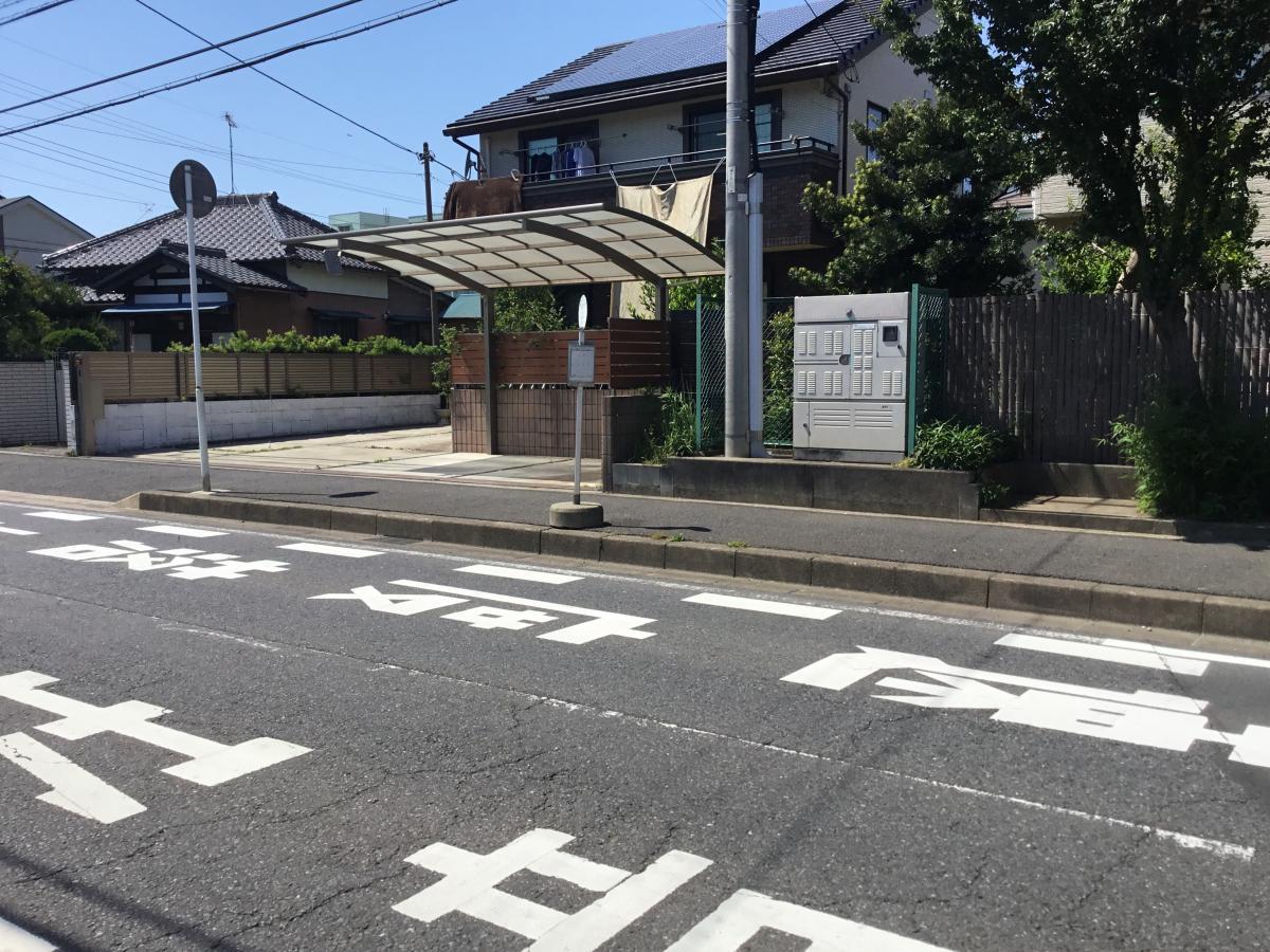 誉田東小学校バス停留所