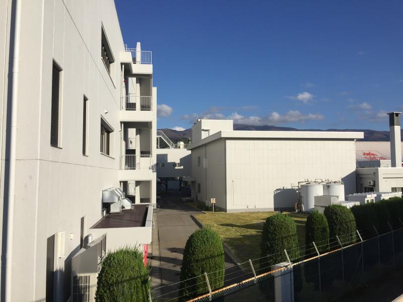 施設の外観写真です。