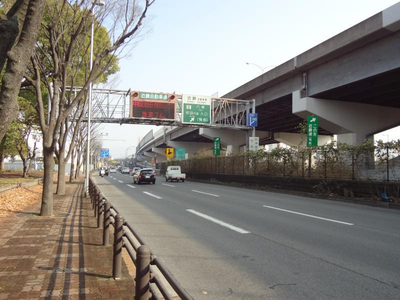 近畿自動車道 八尾IC(東大阪市...