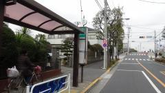「新渡橋」バス停留所