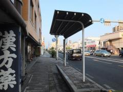 「岡工口」バス停留所