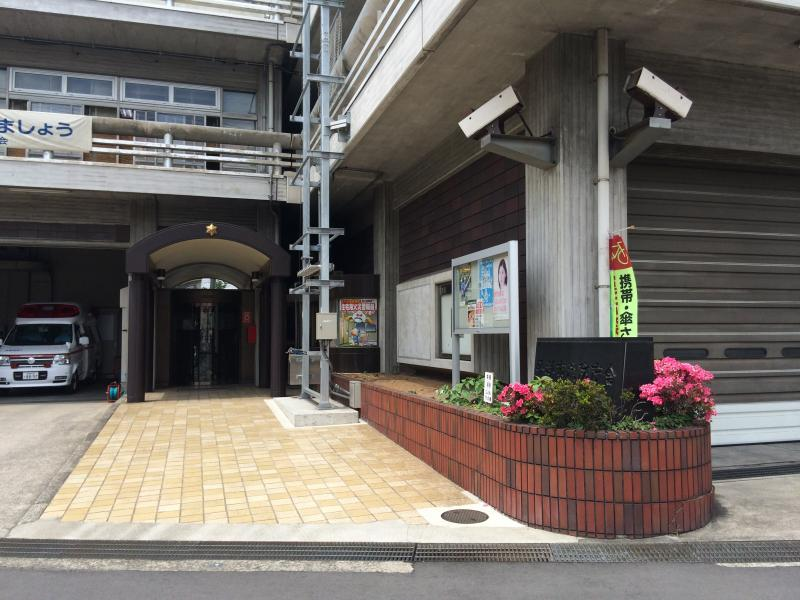 平塚市消防庁舎です。