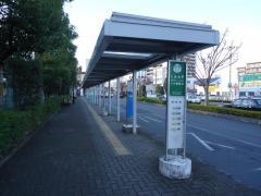 「本庄駅北口」バス停留所