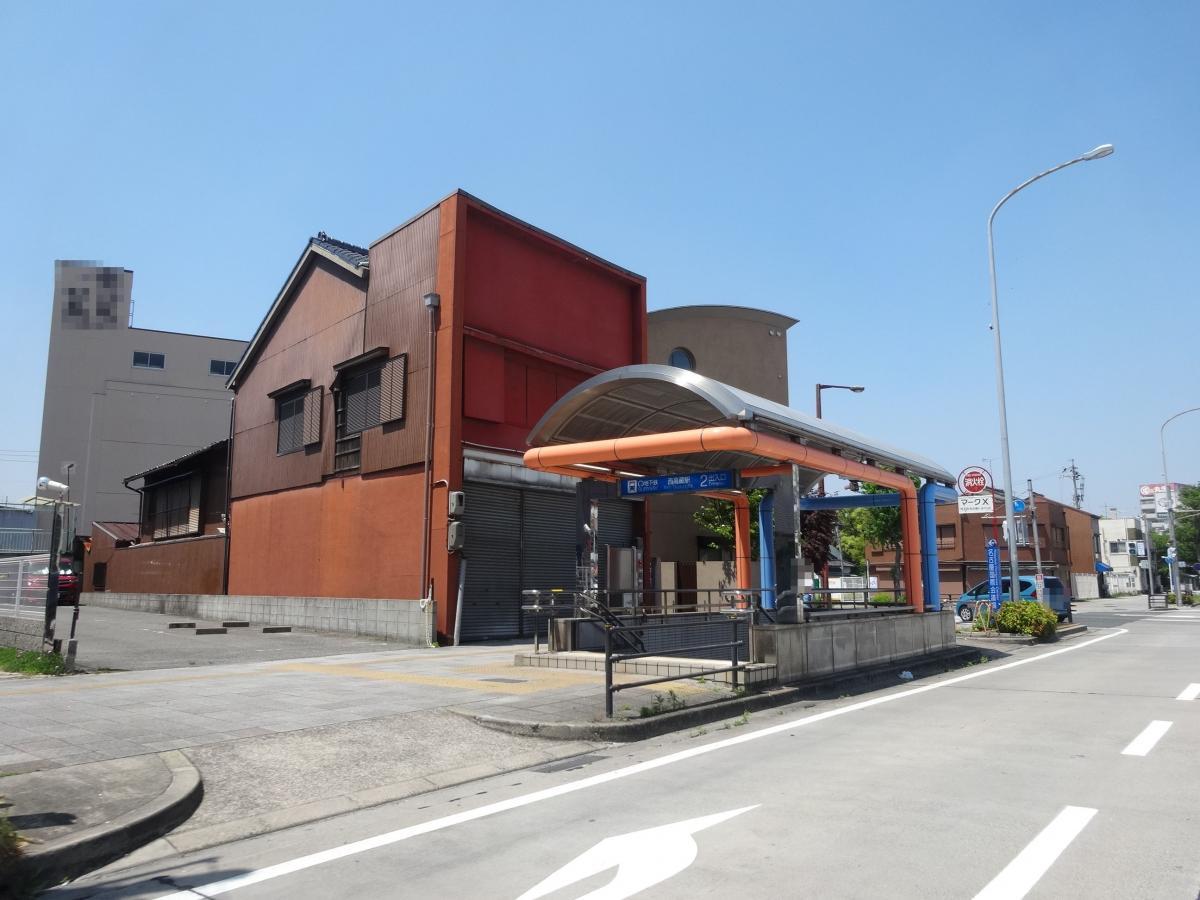 地下鉄名城線西高蔵駅