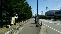 「秋田大学前」バス停留所