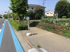 「八幡神社」バス停留所