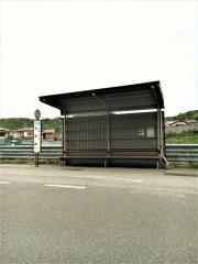 「赤坂峠」バス停留所
