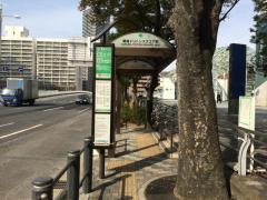 「晴海トリトンスクエア前」バス停留所