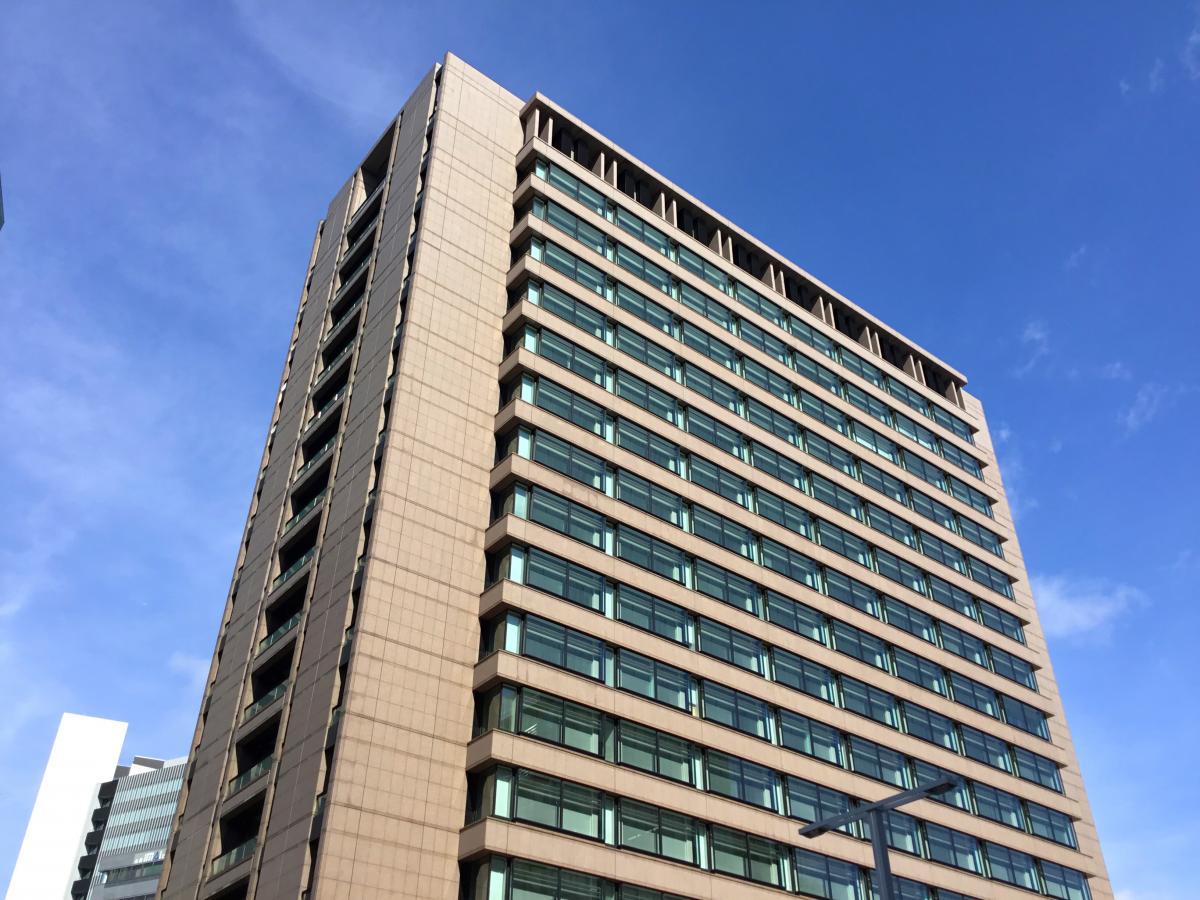 豊田通商(株)の建物を撮影しました