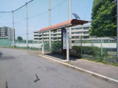 「いせはら団地」バス停留所