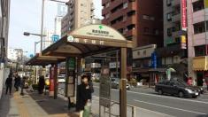 「東武浅草駅前(東側)」バス停留所