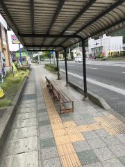 「岡小名」バス停留所