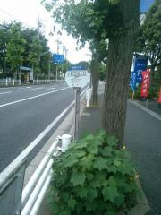 「小倉団地入口」バス停留所