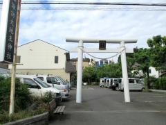 諏訪大地主神社社殿