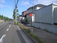 「赤坂一丁目」バス停留所