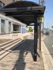 「軽里一丁目」バス停留所
