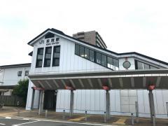「加茂駅」バス停留所