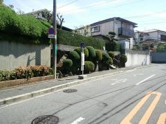 「八田寺公園前」バス停留所