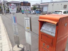 「鎌ケ谷新田」バス停留所