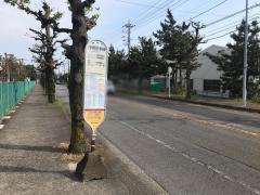 「伊勢原車庫」バス停留所