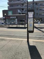 「金岡公園前」バス停留所