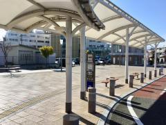 「松本駅アルプス口」バス停留所
