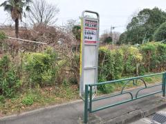 「拝島上水橋」バス停留所