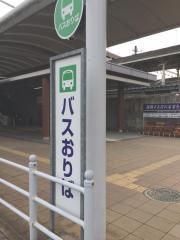 「木津駅(東口)」バス停留所