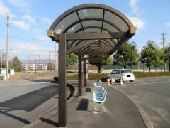 「サンライフ中津川前」バス停留所