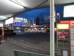 「JR松山駅前」バス停留所